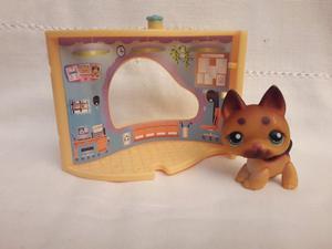 Littlest Pet Shop Perrito con Casita apilable