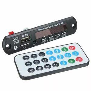 Módulo Mp3 Usb/sd/fm/aux C/ Bluetooth Con Control Remoto