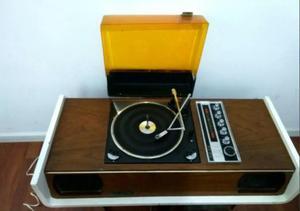 Tocadiscos Combinado Rexson, Diseño Retro Vintage