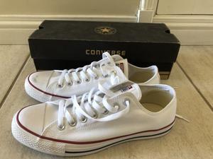 Vendo zapatillas Converse blancas nuevas