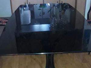 tapa de mesa de vidriob fume 2x$
