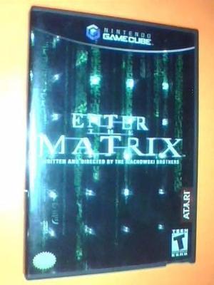 Enter The Matrix Gamecube Completo 2 Discos Fisico
