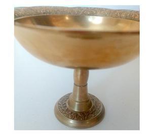 Frutera centro de mesa de bronce, excelente calidad 502 grs