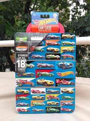 Hot Wheels Estuche Metalico Valija Guarda Autos Armonyshop