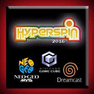 Hyperspin 2016 Pack 1100 Juegos Dreamcast + Gamecube +neogeo