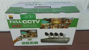 KIT CAMARAS DE SEGURIDAD X 4 HD $2700 Y CCTV $2400
