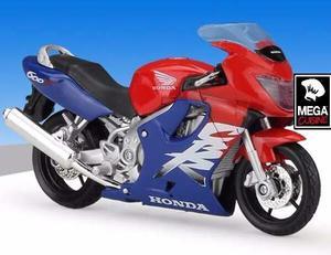 Moto Honda Cbr 600f Coleccion Esc1:18 Metal Original