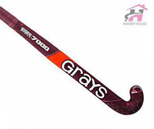 Palo De Hockey Grays Gr 7000 80% Carbono Garantía Oficial