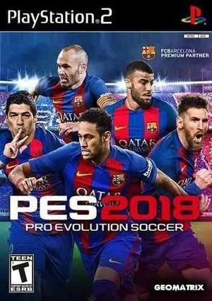 Pes 2018 Actualizado + 3 Juegos. Imperdible Combo Para Ps2!!