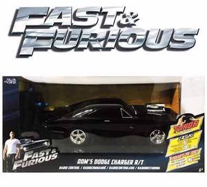 Rápido Y Furioso Dodge Charger 30 Cm Radio Control