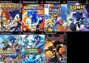 Sonic Coleccion Ps2 Saga Completa Playstation 2 (7 Discos)