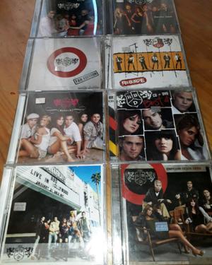 Vendo cd de rbd la colección completa