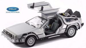 Volver Al Futuro Auto Delorean Con Gancho Escala 1:24 Metal
