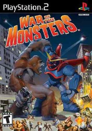 War Of The Monsters Ps2 Sony Playstation 2