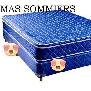vendo sommiers + colchón $
