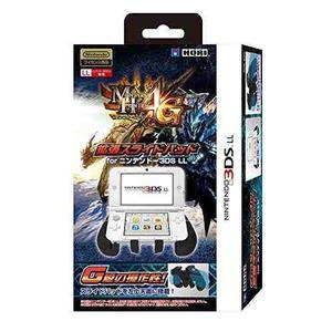 3ds Ll Monster Hunter 4g Ampliado Almohadilla De Diapositiv