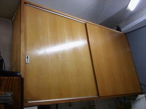 Alacena impecable 2 puertas posot class - Alacena de madera ...