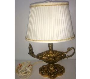 Antigua e importada lampara bronce macizo aladino  Kgs