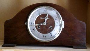 Antiguo Reloj De Mesa En Marcha Casa Escasanny