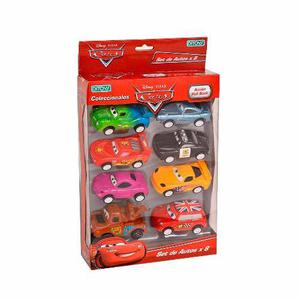 Autitos Pull Back Personajes De Cars X 8 Ploppy