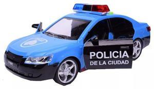 Auto De Policia A Friccion Ciudad De Buenos Aires 24cm Abre