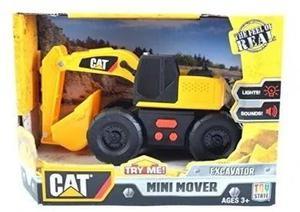 Cat Tractor Camion Pala Excavadora Luz Y Sonido Mini Mover