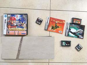 Combo De Juegos Nintendo Ds Y Gameboy Advance