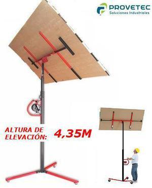 Elevador de Placas de Yeso 3m y 4,4m Durlock, Knauf,