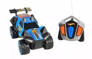Hot Wheels Auto Con Control Luz Y Sonido R/c Rumblin Rapido