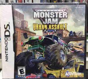 Juego Ds Monster Jam Urban Assault Nuevo Sellado Original