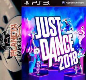 Just Dance 2018 Ps3 Digital Original, Entregas En El Acto!
