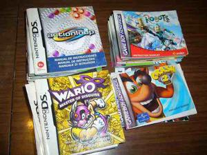 Liquido Lote De Manuales Originales Nintendo Ds Gameboy