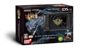 Nintendo 3ds Ll Monster Hunter 4 Paquete Especial Gore Maga