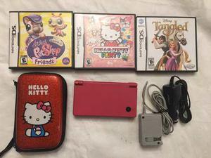 Nintendo Ds Con Juegos Estuche Y Cargadores