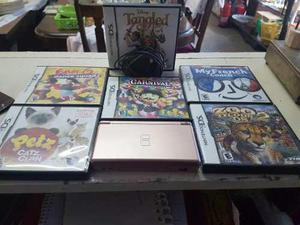 Nintendo Ds Lite Con 6 Juegos