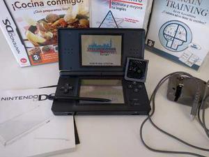 Nintendo Ds Lite + Magia +juegos Originales Excelente Rebaja