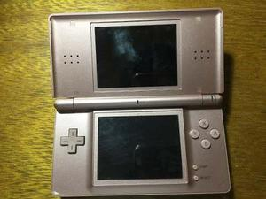 Nintendo Ds Rosa Con Funda Y Dos Juegos