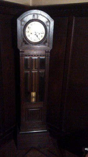 Reloj De Pie Junghans - Péndulo C/carrillon - A Reparar
