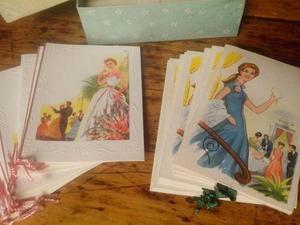 Tarjetas Invitaciones Quince Años Antiguas De Colección