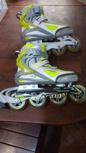 Vendo rollers action abec 7 super sport