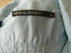 camisa hombre de marca talle L sin uso