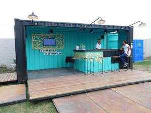 Bar Container - Stand - Local Movil