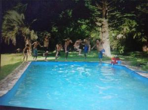 Casa quinta con piscina en Santa Cruz 2500 m2- La Reja-