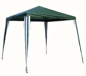 Gazebo Rafia Decorativo Verde 240 X 240 Metal