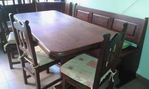 Esquinero con mesa para cocina posot class for Juego mesa cocina