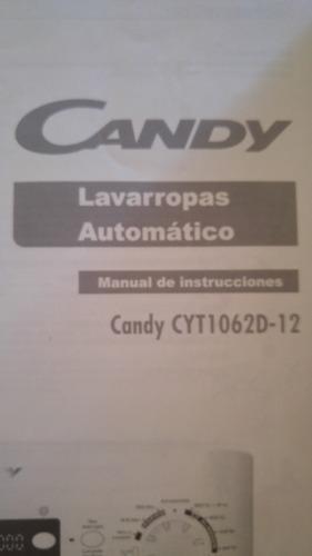 Lavarropas Candy 6 Kg 1000 Rpm Con Poco Uso
