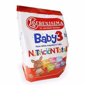 Leche La Serenisima Baby 3 De 800gr Punto Bebe