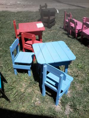 Mesa +2 sillas oferta