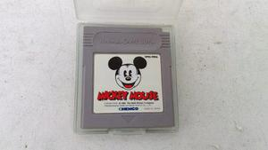 Mickey Mouse Orig Japones Para Gameboy Y Advance Gba. Kuy