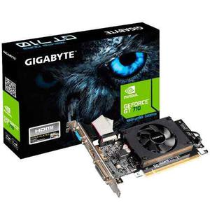 Placa De Video Geforce Nvidia Gt 710 1gb Hdmi Gigabyte